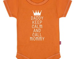 Body Infantil  Daddy Keep Calm