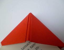 Marcador de livro origami