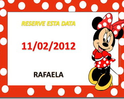 Im� Save The Date Minnie