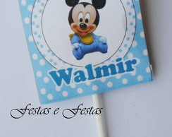 Pirulito Personalizado do Mickey