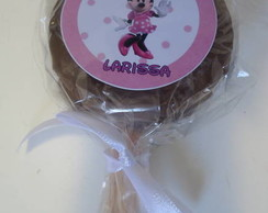 Pirulito de Alfajor - Minnie