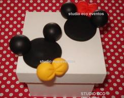 Caixinha Casal Mickey e Minnie