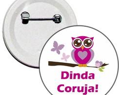 Boton Dinda Coruja