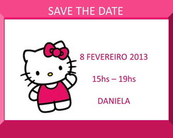�m� Save the Date Hello Kitty