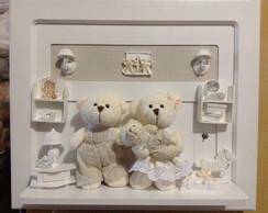 Enfeite de porta maternidade familiurso