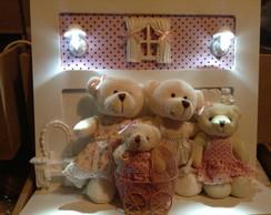 Enfeite De Porta Maternidade Iluminado