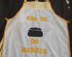 Avental para ch� de panela e chap�u chef