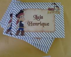Envelope Jake e os piratas da Terra do N