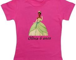 Camiseta Personalizada Princesa E O Sapo