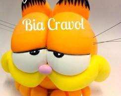Cofrinho Do Garfield ( Enfeite De Mesa)