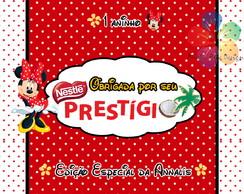 R�tulo para Prest�gio/Chokito - Minnie