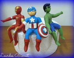 Topo de bolo - Vingadores