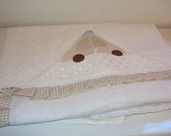toalha capuz modelo avental