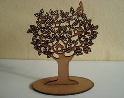 �rvore com Casinhas e Passarinhos