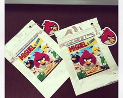Angry Birds - Saquinho Metalizado