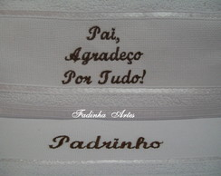 Toalha Bordada Personalizada
