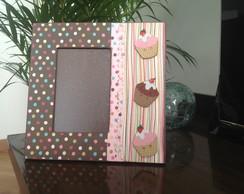 Porta retrato Cupcakes