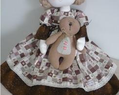 Projeto Boneca Alice e seu ursinho