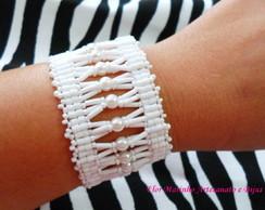 Bracelete Veneza *Branco*