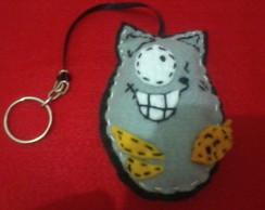 chaveiros de gatos divertidos