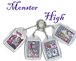 Chaveiro Acr�lico Monster High