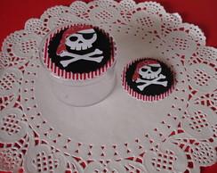 Caixinha em Acr�lico Tema Pirata