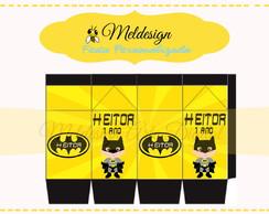 Caixa leite personalizada Batman