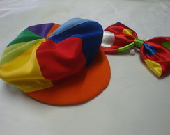 Boina charmosa oito cores infantil