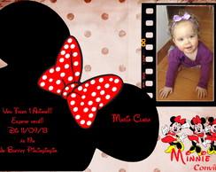 Convite Minnie Mouse 2