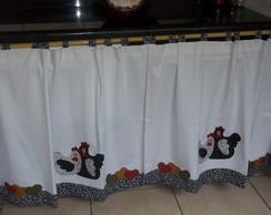 cortina para pia de cozinha