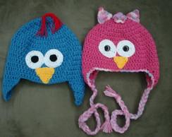 gorro de crochet infantil