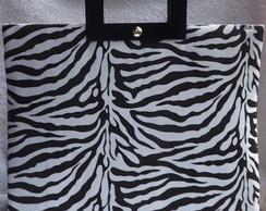 Maxi Bolsa Zebra com Al�as De M�o.