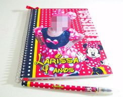 Caderno De Assinaturas - Minnie m1