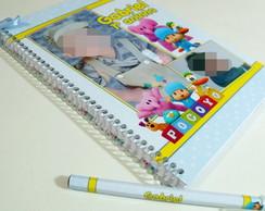 Caderno De Assinaturas - Pocoyo