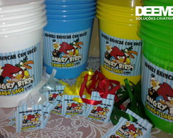 Kit de Baldinhos 2500ml- Angry Birds