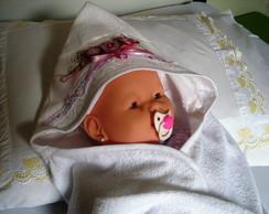 Toalha Infantil com Capuz