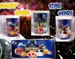 Caneca Angry Birds Star Wars