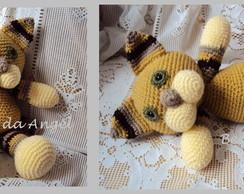 Gato Brownie - Amigurumi em croch�
