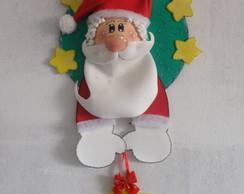 """Enfeite porta """" Papai Noel"""""""