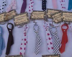 Chaveiro Mini Gravatinhas