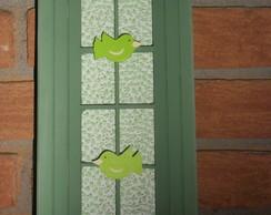 Porta -chaves de janelinha