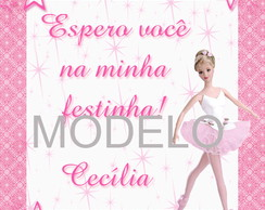 Tag Barbie Bailarina