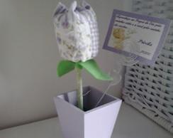 Porta Recado mini Tulipa