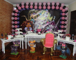 Decora��o Clean/Proven�al Monster High