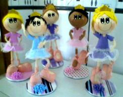 Boneca 3D Bailarina