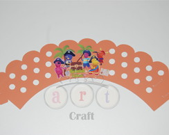 WRAPPER CUPCAKE BACKYARDIGANS PIRATAS