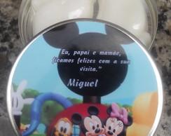 Latinha Personalizada Mickey e sua Turma