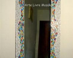 Espelho Ondas Coloridas