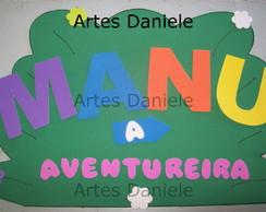 Painel nome Dora Aventureira