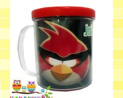 Caneca Acr�lica Angry Birds